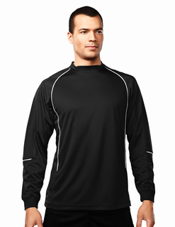 Thunderbolt-Mens 100% Polyester Ls Knit Crewneck-TM Performance