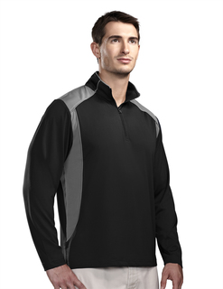 Diversion-Mens Poly Ultracool 1/4 Zip Pullover Shirt