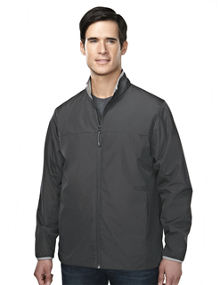 Carver-Mens 100% Polyester Long Sleeve Jacket With Water Proof
