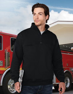 Alarm-Mens 80% Cotton 20% Polyester Pullover Sweat Shirt-Tri-Mountain