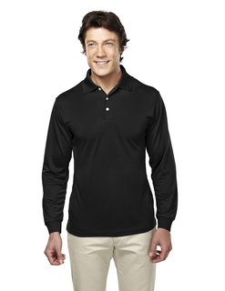 Escalate-Mens Poly Ultracool Pique Long Sleeve Golf Shirt