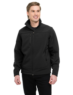 Rockford-Poly Stretch Bonded Soft Shell Jacket With Sherpa Fleece Lining-TM Performance