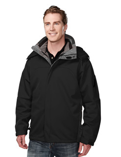 Washington-Poly Bonded Soft Shell 3-In-1 Jacket