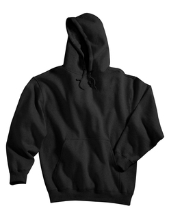 Perspective-Cotton/Poly Sueded Finish Hooded Sweatshirt-