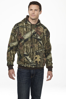 Perspective Camo-80/20 Hooded Sweatshirt With Realtree Apreg Pattern-Tri-Mountain