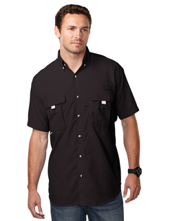 Reef-Men Nylon Shirt With Upf Protection And Ventilated Back-TM Performance