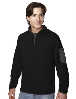 Cordova-Mens 100% Polyester Fleece 1/4 Zipper Pullover-Tri-Mountain