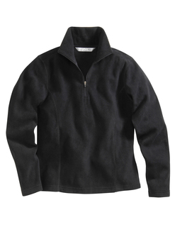 Serenity-Womens 100% Polyester Anti-Pilling Micro Fleece 1/4 Zip Pullover