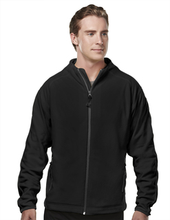 Instinct-Mens Micro Fleece Jacket With Trim