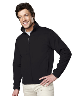 Contender-Mens Polyknit Fleece Full Zip Jacket