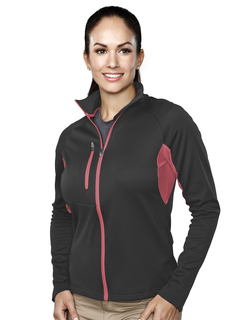 Lady Lancer-Womens 100% Polyester Micro Fleece Long Sleeve Jacket-TM Performance