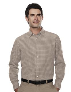 Shelford-Mens 66% Modal 34% Polyester Ls Woven Shirt-Tri-Mountain