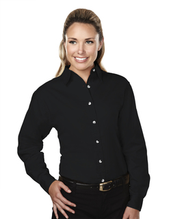 Specialist-Womens 60/40 Stain Resistant Long Sleeve Twill Shirt-Tri-Mountain