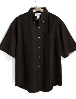 Recruit-Mens 60/40 Stain Resistant Short Sleeve Twill Shirt-