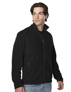 Blaine-Men's 100% Polyester Brushed Back Fleece Jacket-Tri-Mountain