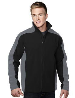 Sabre-Mens 100% Polyester Micro Fleece Bonded Jacket With Membrance-TM Performance