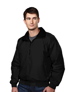 Volunteer-Nylon Jacket With Lightweight Fleece Lining-