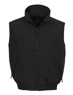 Ridge Rider-Nylon Vest With Fleece Lining-