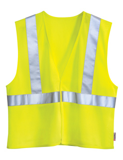 Zone-Polyester Safety Vest. Ansi Class 2 / Level 2