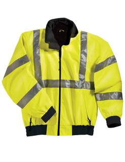 District-Poly Ansi Compliant Safety Jacket With Reflective Tape-Tri-Mountain