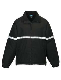 Sector-Men Windproof/Water Resistant Heavyweight Safety Jacket-Tri-Mountain