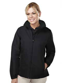 Sequel-Womens 100% Polyester Long Sleeve Jacket With Water Resistent-Tri-Mountain