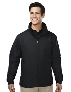 Saga-Mens 100% Polyester Long Sleeve Jacket With Water Resistent