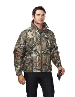 Mountaineer Camo-Windproof/Water Resistant 3-Season Jacket With Realtree Apreg Pattern-