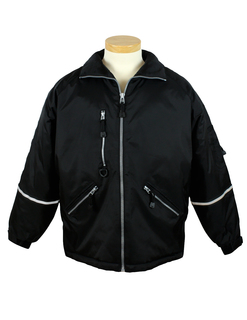 Courier-Nylon Jacket With Reflective Tape-Tri-Mountain