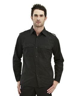 Vortex-Tmr 60/40 Easy Care Slim-Fit Long Sleeve Shirt