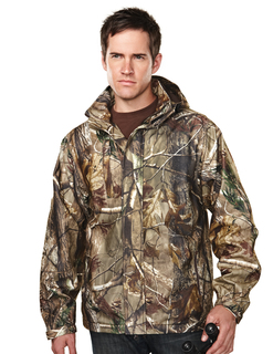Reticle Camo-Mens 100% Polyester Camo Jacket-Tri-Mountain