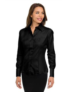 Brooke-Womens 100% Cotton Non-Iron Twill Dress Shirt