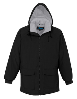 Woodsman-Nylon Hooded Parka With Fleece Lining
