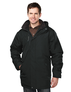 Droxford-Mens 100% Polyester Long Sleeve Jacket With Water Resistent-