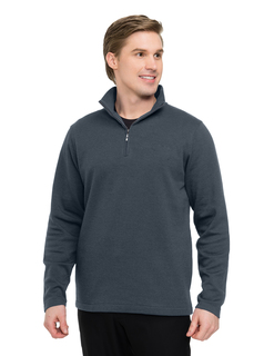 Camden-Mens 1/4 Zip Sweatshirt-Tri-Mountain
