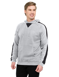 Assist-Mens 60% Cotton 40% Polyester Pullover Ultra Cool Sweat Shirt With Hood-