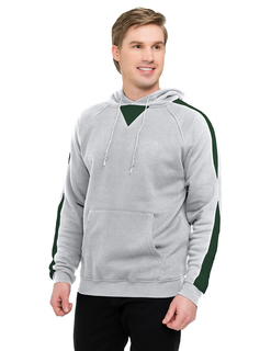Assist-Mens 60% Cotton 40% Polyester Pullover Ultra Cool Sweat Shirt With Hood-TM Performance