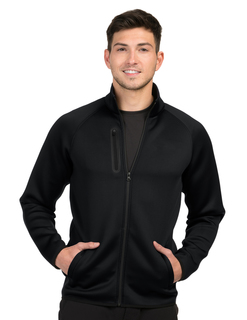 Mens Layer Knit Jacket-Mens 100% Polyester Jacket-