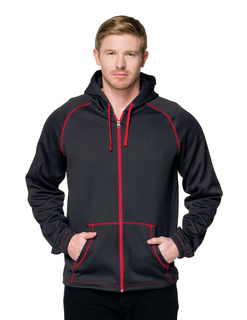 Cf-2-Full Zip Hoody Featuring Our Exclusive Carbon Fiber Pattern