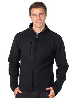 Redmond-Mens Heavyweight Micro Fleece Jacket-Tri-Mountain
