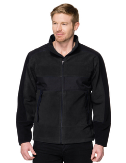 Arroyo-Mens 100% Poly Fleece/Mesh Bonded Jacket-TM Performance