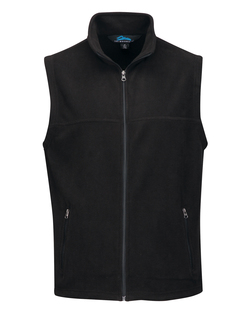 Expedition-Mens Polar Fleece Vest w/ Slash Zipper Pockets-Tri-Mountain