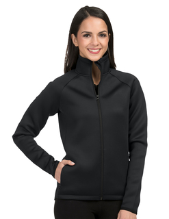 Ws Layer Knit Jacket-Womens 100% Polyester Jacket-TM Performance