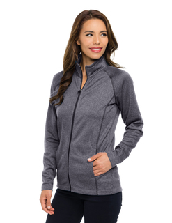 Haze-Womens 100% Polyester Full Zip Jacket-TM Performance