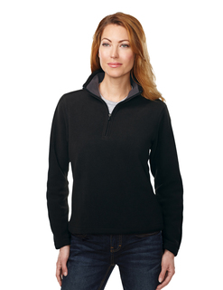 Savona-Womens 100% Polyester Knit Bonded Contrast Micro Fleece