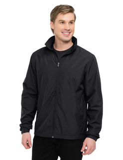 Vital Lwj-Mens 100% Polyester Full Zip Jacket-