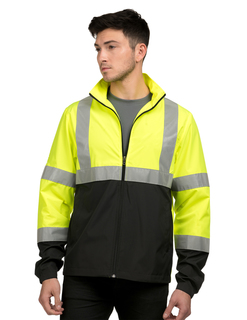 Province-Mens 100% Polyester Full Zip Jacket-