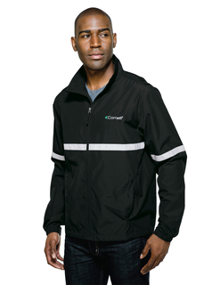 Ward-Mens Lightweight Jacket Features A Shell Of Windproof/Water-Resistant Polyester