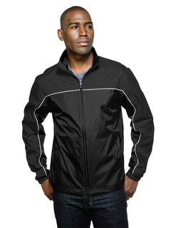 Downshifter Lwj-Mens 100% Nylon Light Weight Jacket Features A Shell Of Windproof/Water-Resistant Nylon