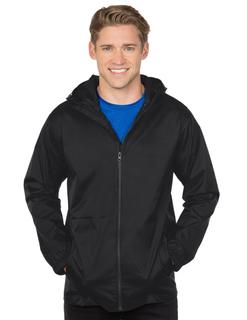 Seattle-Mens Seamsealed Hooded Shell Jacket-